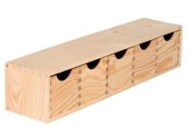 Cajas de madera leroy merlin for Leroy cajas ordenacion