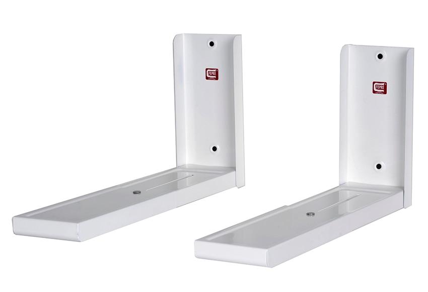Soporte microondas pie ancho blanco ref 10794455 leroy - Soportes para microondas ...