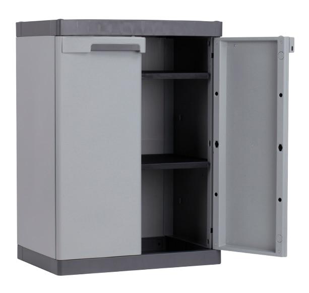 Armario bajo spaceo utile 90x65x45cm ref 16305485 leroy - Armarios de plastico ...