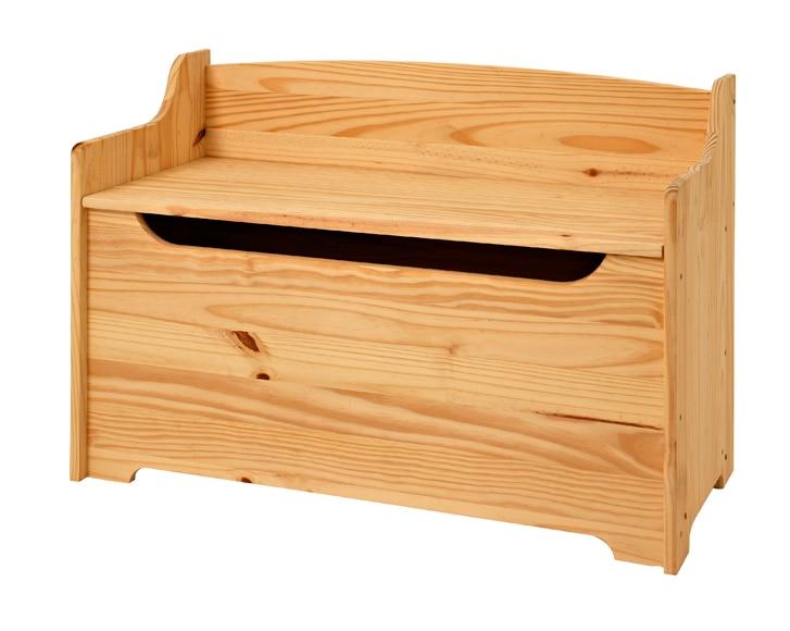Ba l de madera banqueta ref 15695862 leroy merlin for Baul madera barato