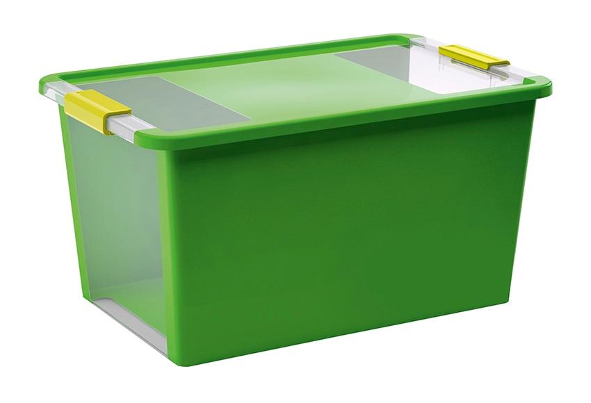 Caja de pl stico verde bibox ref 15005200 leroy merlin for Leroy cajas ordenacion