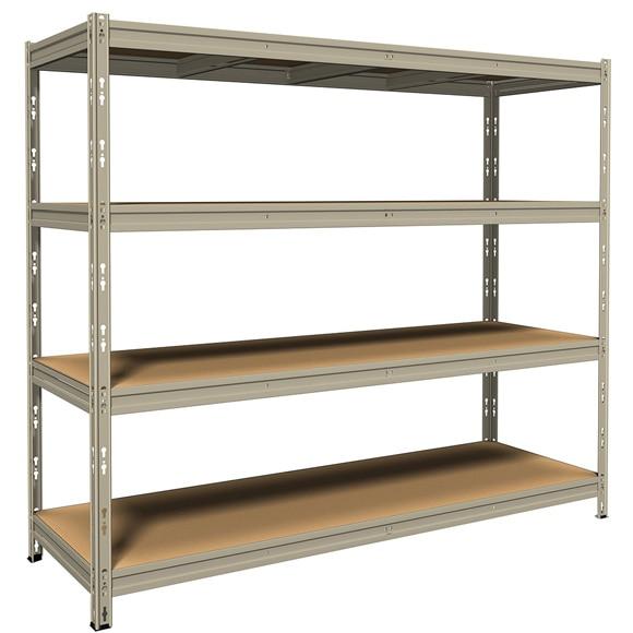 Precio de estanterias metalicas estanteras para comercios - Estanteria metalica precio ...