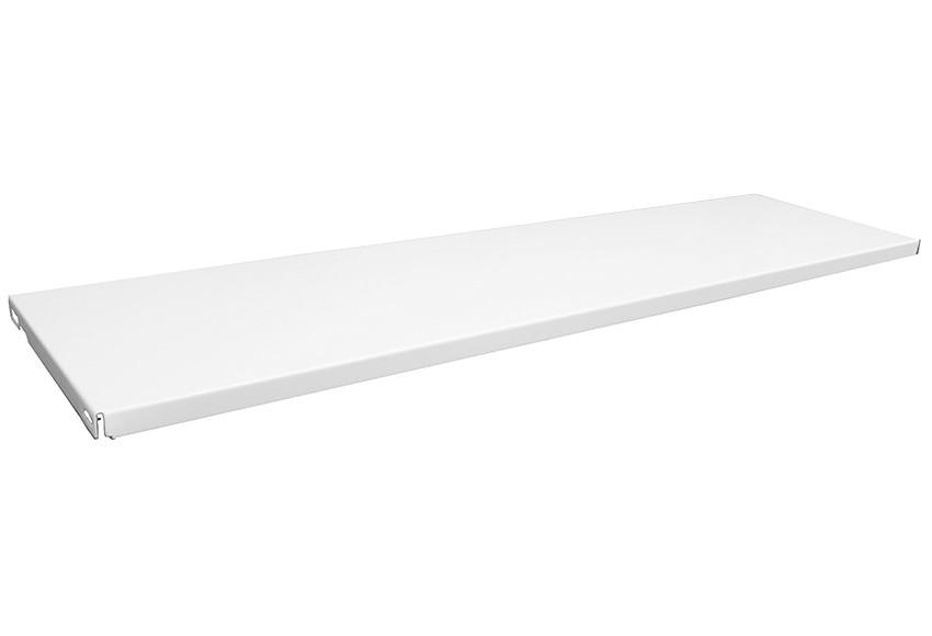 Baldas para cartelas 2 baldas acero blanco ref 16372944 - Baldas de pared ...