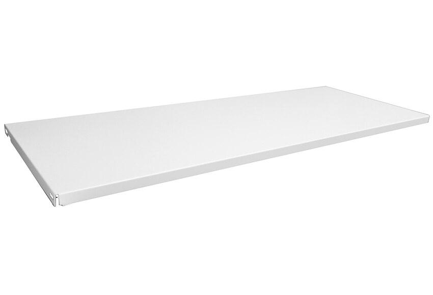Baldas para cartelas 2 baldas acero blanco ref 16373035 for Baldas leroy merlin
