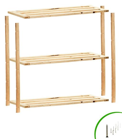Estanter a de madera eco ref 14110831 leroy merlin - Estanterias leroy merlin ...