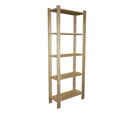 Estanter a de madera pro ref 14110894 leroy merlin - Estanterias modulares de madera ...