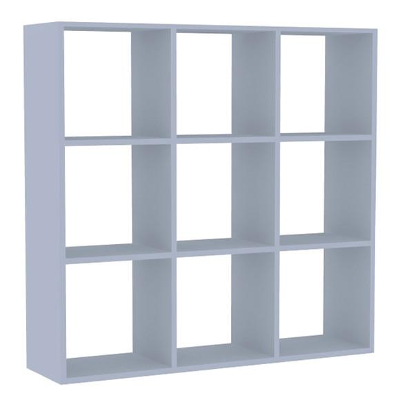 Estanter a mediana 3x3 espesor 22 mm spaceo serie rubick - Leroy merlin estanterias modulares ...