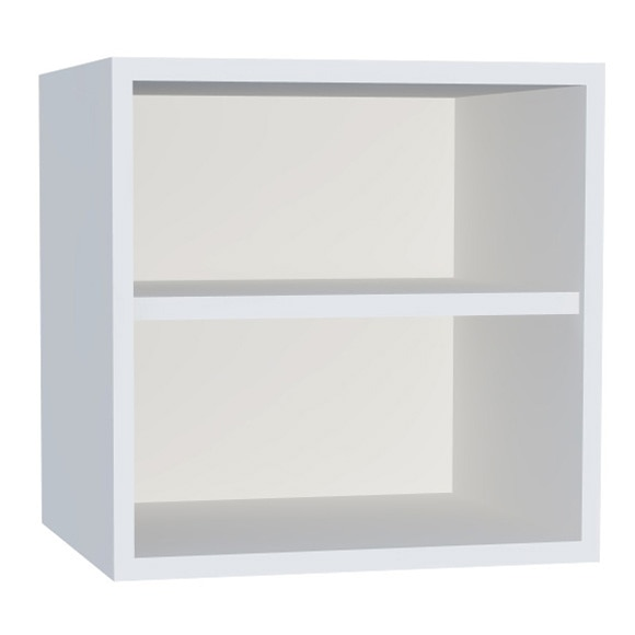 Estanter a baja 1x2 espesor 16 mm spaceo serie rubick - Leroy merlin estanterias modulares ...