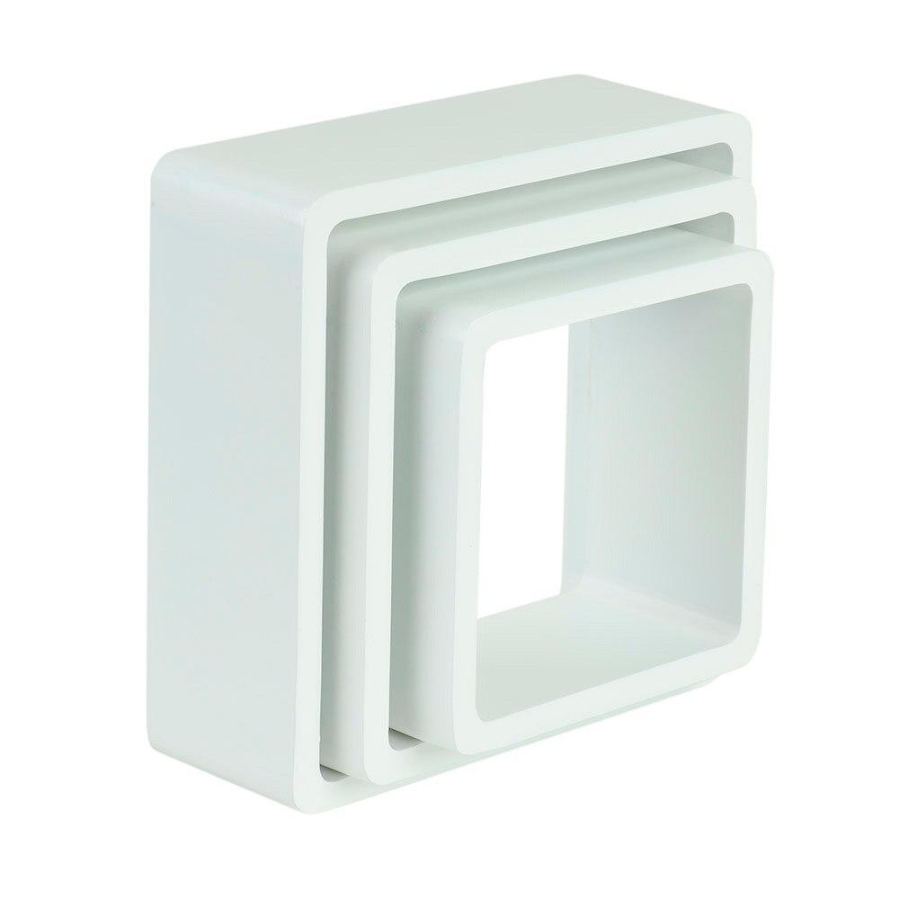 Estante De Pared En Forma De Cubo Spaceo Cantos Curvos Ref 17082240