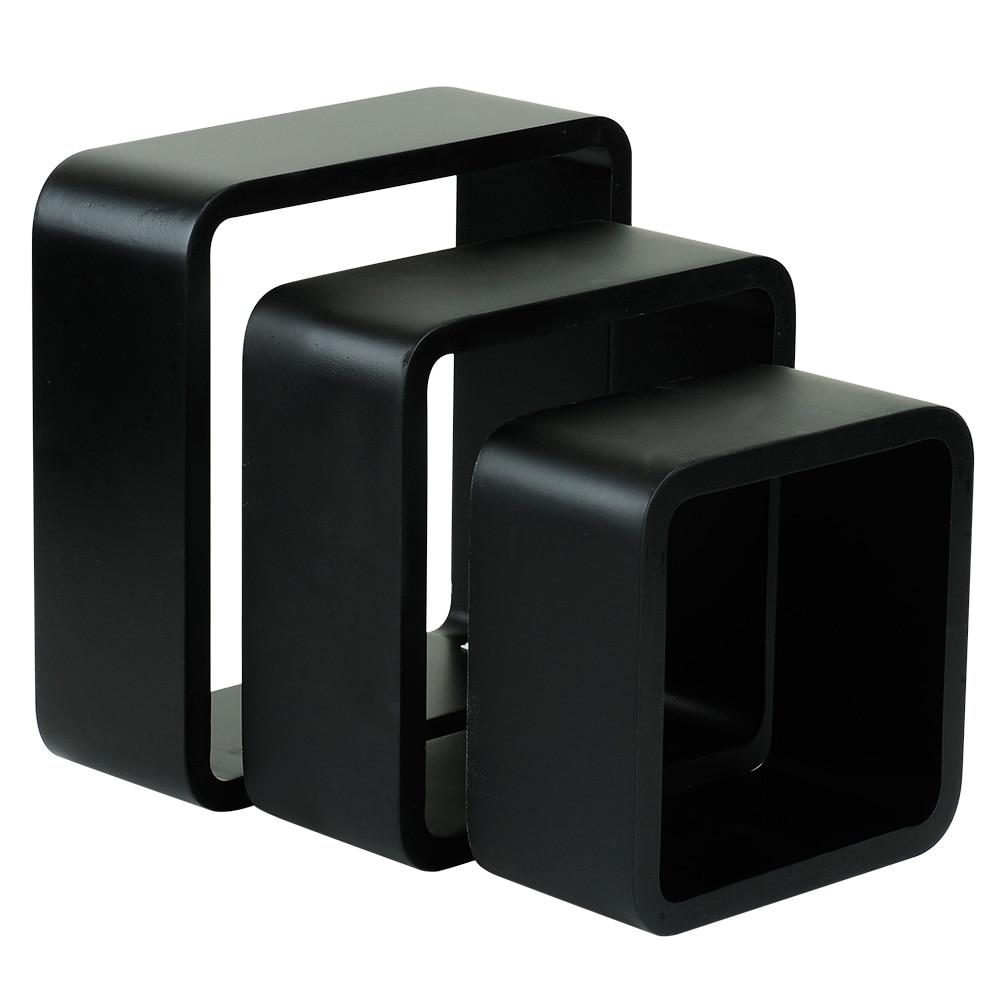 Estante De Pared En Forma De Cubo Spaceo Cantos Curvos Ref 17205531