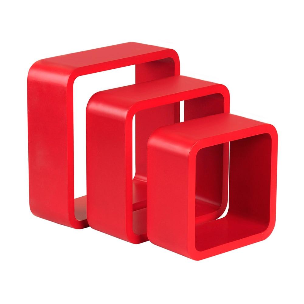 Estante De Pared En Forma De Cubo Spaceo Cantos Curvos Ref 17205580