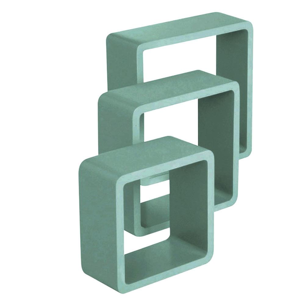Estante De Pared En Forma De Cubo Spaceo Cantos Curvos Ref 19446392