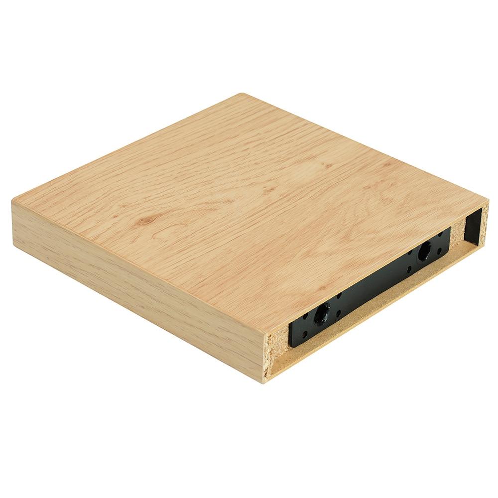 Estante de pared recto aero madera ref 17081743 leroy - Tablas madera leroy merlin ...