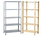 Estanter as y mobiliario para almacenar leroy merlin - Muebles para trasteros ...