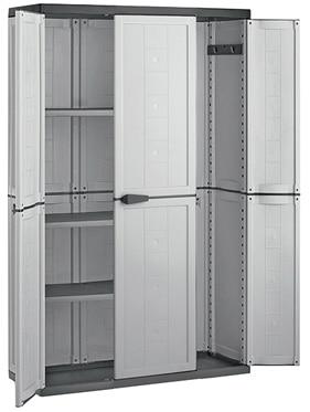 Armario alto con baldas jolly 103 x 166 x 39 cm ref for Armarios fondo 30 cm