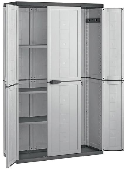 Armarios de resina baratos excellent armario alto moby for Armario jardin carrefour