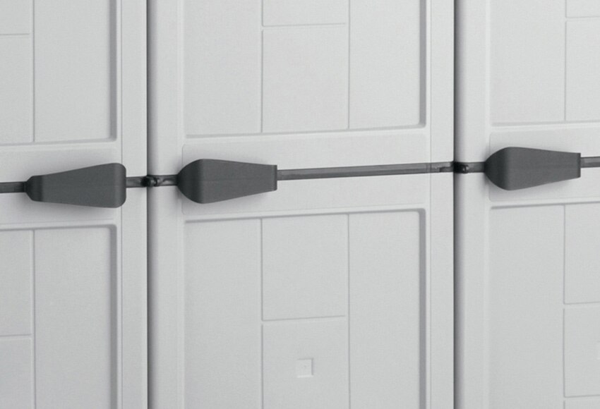 Armario Capsula Feminino ~ Armario alto con baldas JOLLY 103 X 166 X 39 CM Ref 14408702 Leroy Merlin