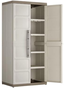 armario alto con baldas spaceo excellence 89 x 182 x 54 cm