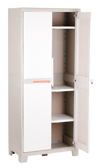 Armario escobero spaceo premium 80 x 182 x 44 cm ref for Resina epossidica trasparente leroy merlin
