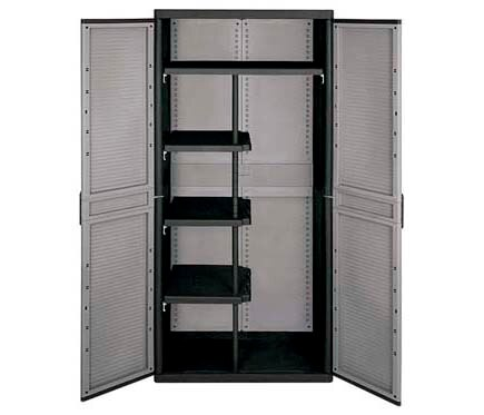 Armario escobero jumbo 3900 qnegro ref 18901981 leroy merlin - Ikea armario escobero ...