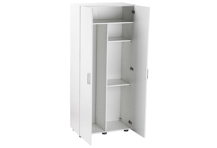 Despensero alto 2 puertas 80 x 180 x 42 cm ref 16279795 leroy merlin - Puertas para armarios empotrados leroy merlin ...