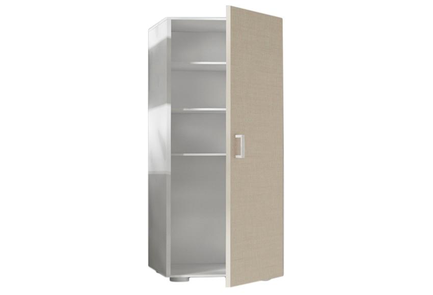 Despensero alto 1 puerta 40 x 180 x 42 cm ref 16373392 for Armarios bano leroy merlin