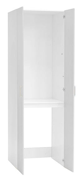 Armario de lavander a blanco lavadora 70 x 224 x 67 cm ref 17759595 leroy merlin - Armario para lavadora ...