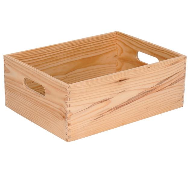 Caja de madera basic ref 13909161 leroy merlin - Tablas madera leroy merlin ...
