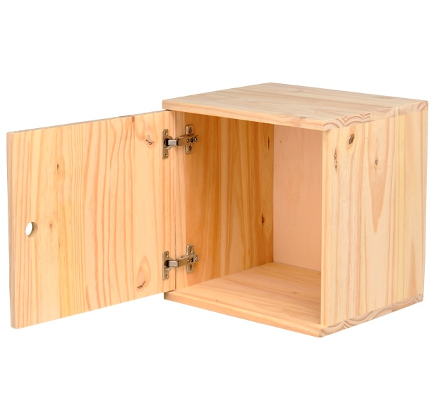 Caja de madera modulable ref 13909224 leroy merlin - Financiar muebles sin nomina ...