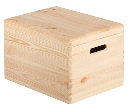 Caja de madera tapa ref 17416084 leroy merlin - Cajas madera leroy merlin ...