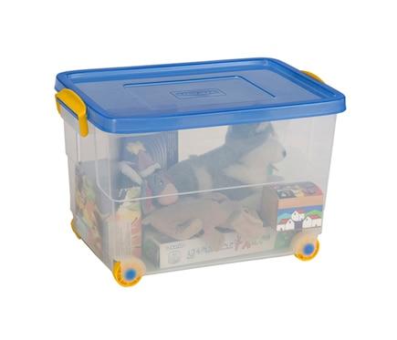 Caja de pl stico transparente eurobox ref 12196772 - Caja transparente plastico ...