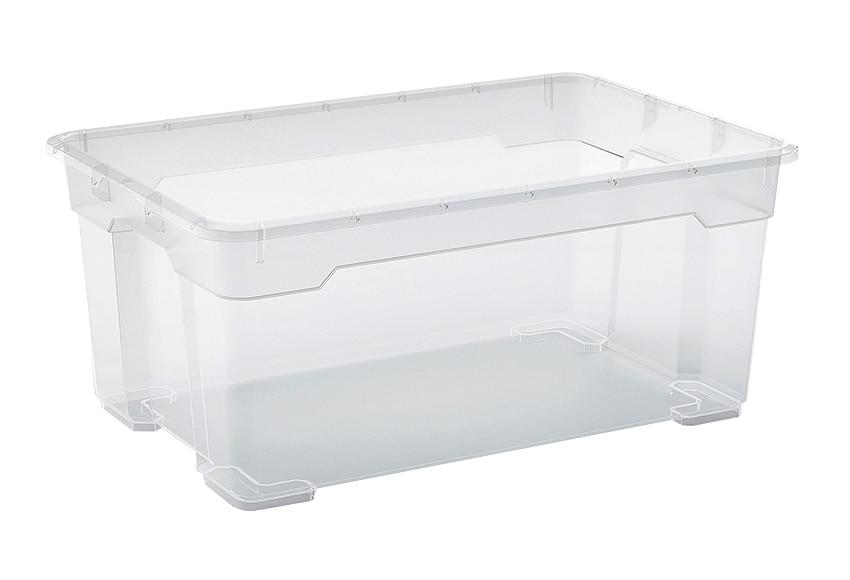 Caja multiusos con ruedas r box ref 15880382 leroy merlin for Cajas plasticas con ruedas