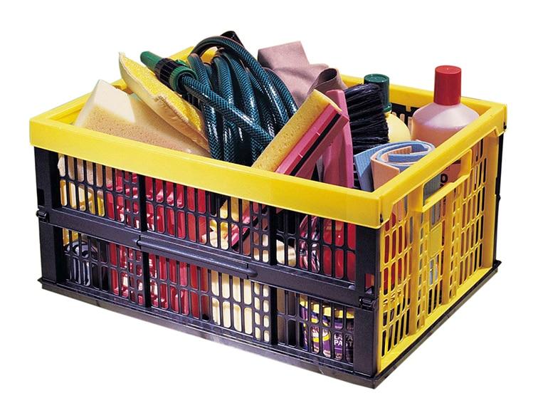 Caja plegable voila ref 16516724 leroy merlin for Cajas de plastico plegables