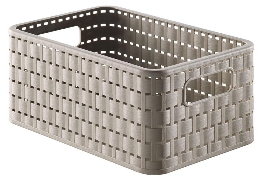 Caja de pl stico country topo ref 17082891 leroy merlin - Cajoneras de plastico baratas ...