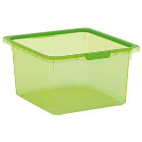 Cajas ordenacion plastico best caja plegable con tapa a for Leroy cajas ordenacion