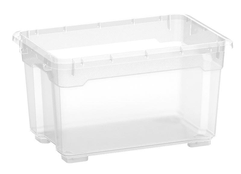 Caja de pl stico transparente r box ref 17660216 leroy - Caja transparente plastico ...