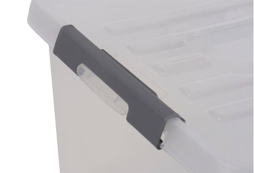 Caja con cierre clip ref 19497275 leroy merlin - Leroy merlin cierres ...