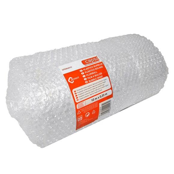 Pl stico burbujas rollo 10 m ref 15306074 leroy merlin - Plastico de burbujas ...