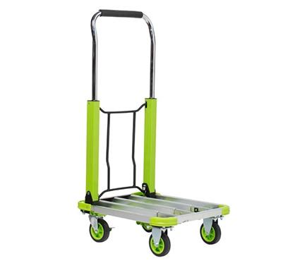 Carretilla de transporte plataforma plegable 150kg ref for Carretillas de mano leroy merlin