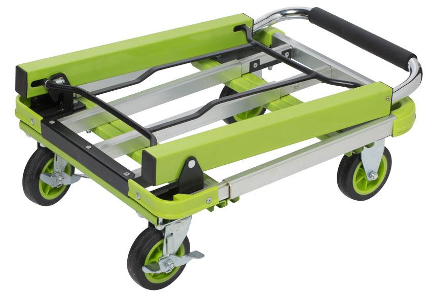 Carretilla de transporte plataforma plegable 150kg ref - Carretillas de transporte ...