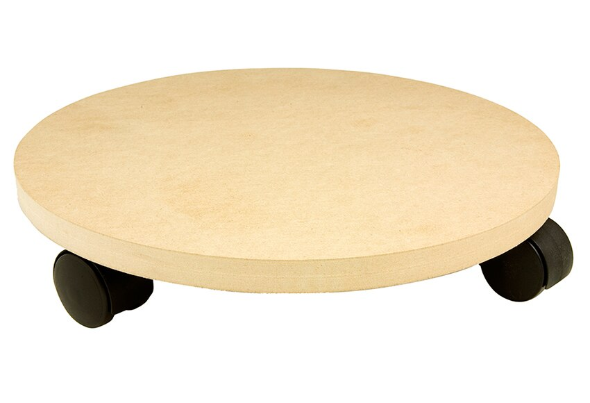 Soporte rodante de madera ref 15630104 leroy merlin for Bar rodante de madera
