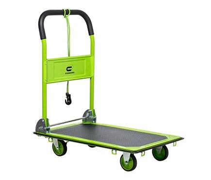 Carretilla de transporte standers acero plegable 150kg ref - Ruedas de carretillas ...