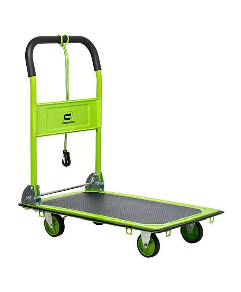 Carretilla de transporte standers acero plegable 150kg ref - Carretillas de transporte ...
