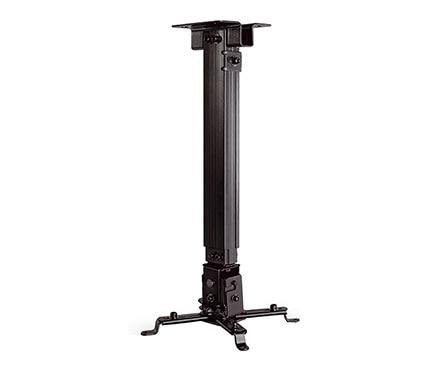 Soporte para proyector de techo 1 brazo negro ref 18595745 leroy merlin - Soporte para proyectores techo ...