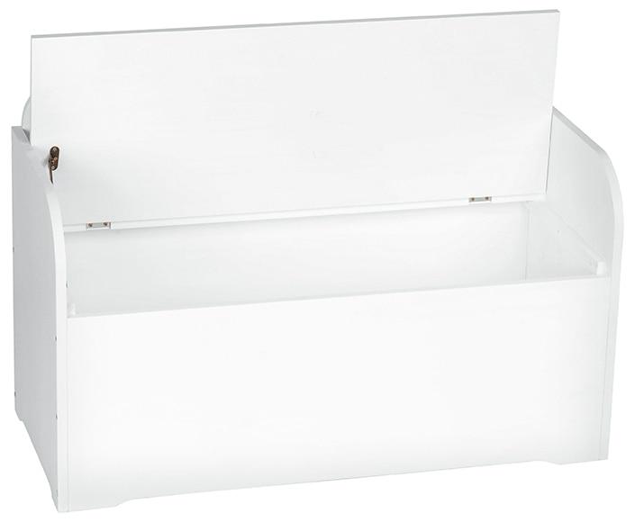 Ba l de madera banqueta blanco ref 16431520 leroy merlin - Baul de resina ...