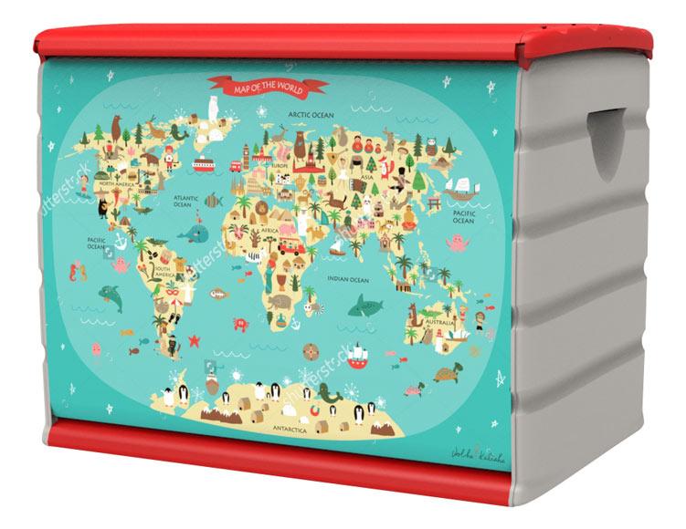 Ba l de resina mapa ref 19479985 leroy merlin for Resina epossidica trasparente leroy merlin