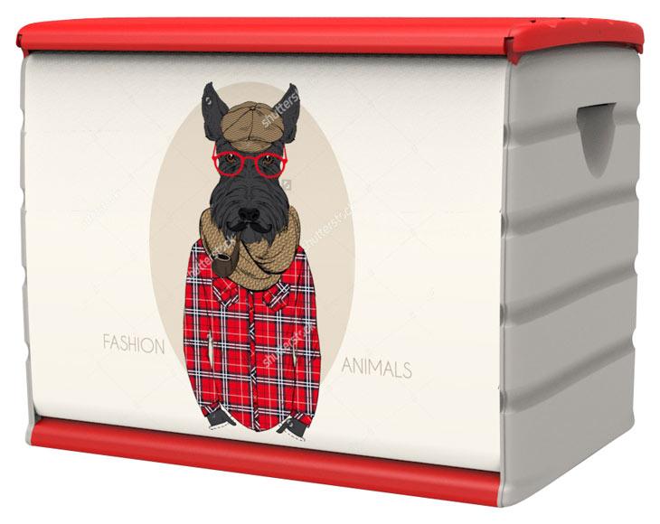 Baul De Resina Dog 2 Ref 19480454 Leroy Merlin