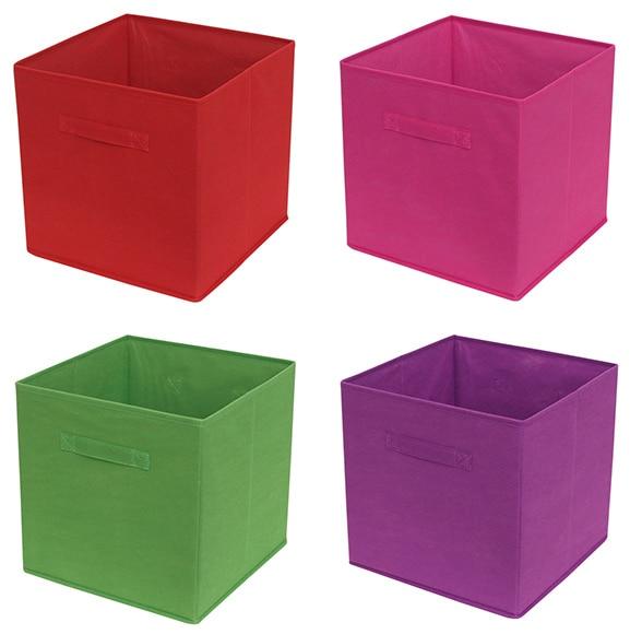 Cesta de tela plegable surtido box ref 16619071 leroy - Sillones de mimbre leroy merlin ...