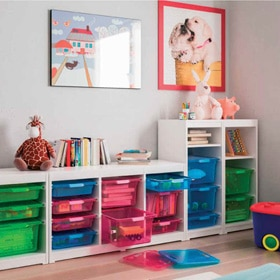 Muebles decorativos leroy merlin for Estanteria pared infantil