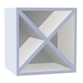 Estantería Alta 4x4 Espesor 22 Mm Spaceo Serie Rubick Blanco Ref